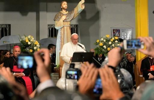 pape françois assise